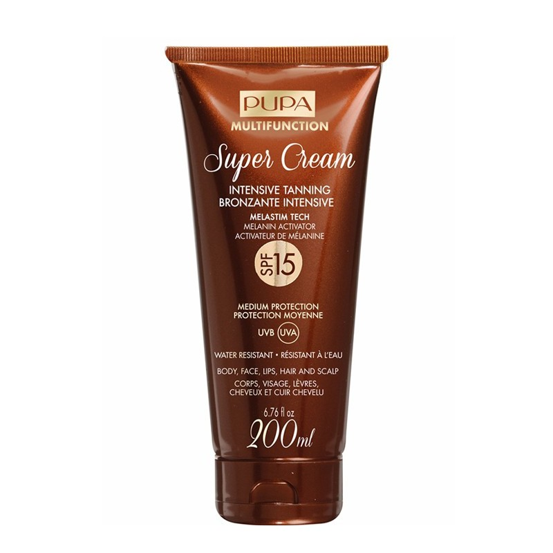 SUPER CR BRONZANTE SPF15    200 ML