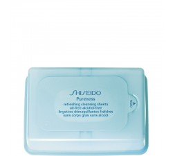 Shiseido - Pureness Lingettes Démaquillantes Fraîches