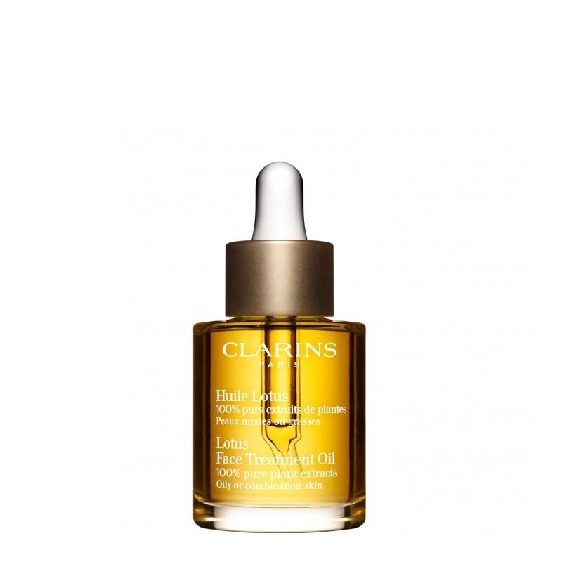 Clarins huile lotus peaux mixtes ou grasses